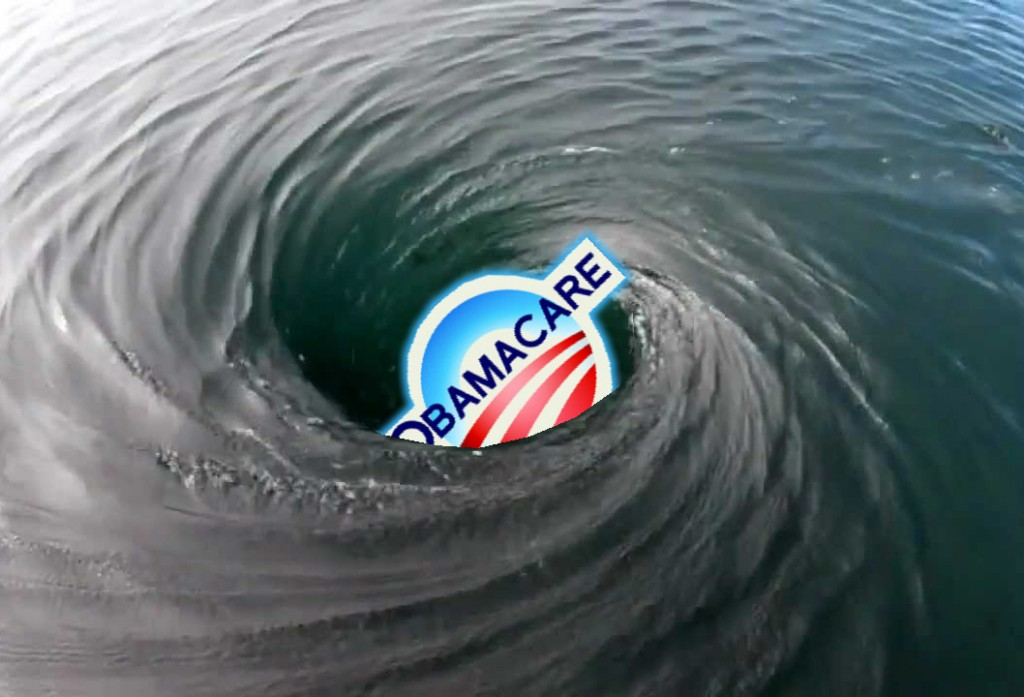 ObamaCare down the drain