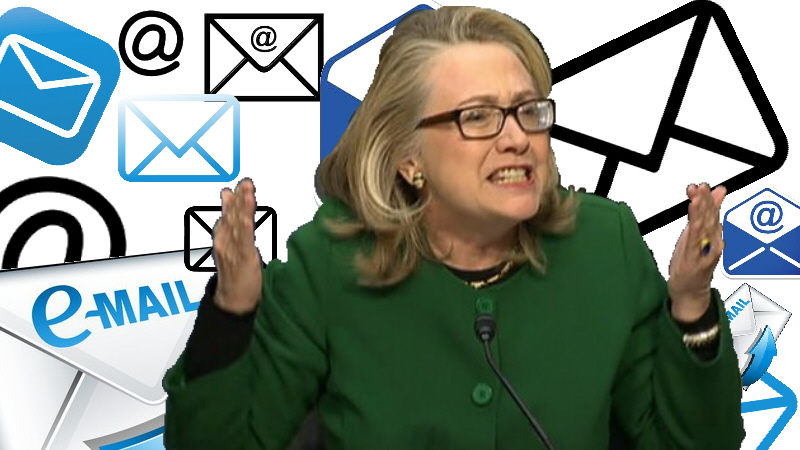 hillary and her lost emails