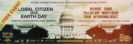 Global Citizen Earth Day 2015