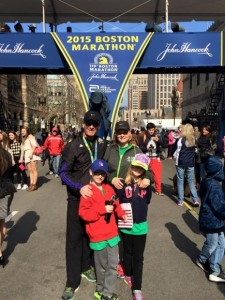 family attended boston marathon